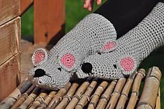 Obuv - Myškové ponožky - 8592960_