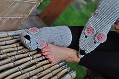 Obuv - Myškové ponožky - 8592962_