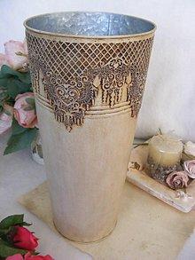 Dekorácie - Vintage váza ... / veľká ... AKCIA - (pôvodne 30E) - 8590565_