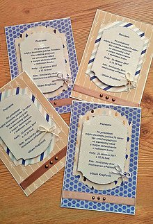 Papiernictvo - pozvanie na oslavu - 8591279_