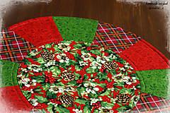 """Úžitkový textil - prestierania """"home for the holidays"""" - 8593023_"""