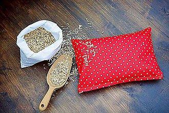 Úžitkový textil - Špaldový vankúš 20 x 30 cm - 8592450_
