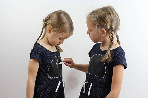 Detské oblečenie - Detské tabuľové šaty 3 - 8595204_