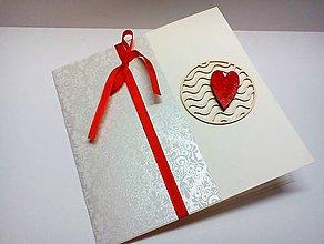 Papiernictvo - Pohľadnica ... Srdce - 8598219_