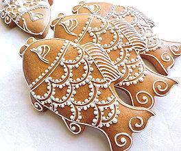 Dekorácie - Medovníkový kaprík 15 cm - 8595524_