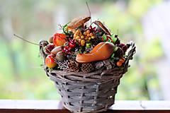 Dekorácie - Jesenný aranžmán - 8595012_
