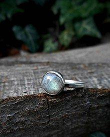 Prstene - Strieborný Prsteň s Labradoritom - 8596168_