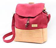- 2 v 1 ruksak bordový XL / cork level - 8595246_