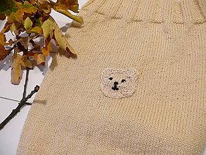 Textil - Pletený spacáčik - kukla pre bábätko - 8597828_