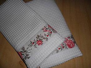 Úžitkový textil - Utierka vaflová. - 8595860_