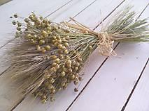 Dekorácie - Jesenná kytička - 8594735_