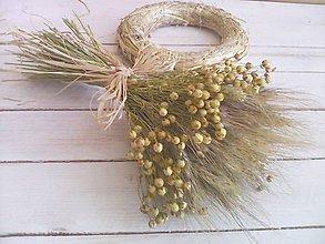 Dekorácie - Jesenná kytička - 8594736_