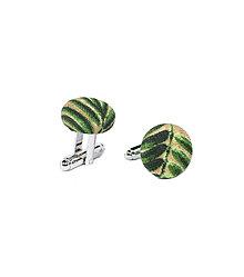 Šperky - Manžetové knoflíčky tropické květy - 8596546_