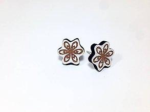 Náušnice - Ľudovky kvet II. - 8598368_