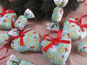 Dekorácie - Vianočná sada na stromček - 8596311_