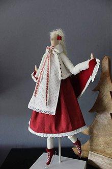 Bábiky - Zimná bábika Emma - 8596933_