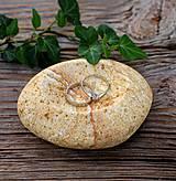 Nádoby - Kamenná mištička na prstienky - 8595768_