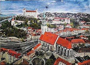 Obrazy - Hrad nad Dunajom - 8595599_