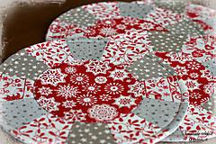 """Úžitkový textil - prestieranie """"scandi christmas"""" malé - 8596422_"""
