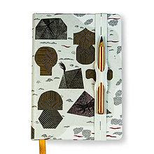 Papiernictvo - Ostrov jantárového kmeňa (Zápisník A6) - 8596337_