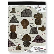 Papiernictvo - Skicár Ostrov jantárového kmeňa (Skicár B4) - 8596357_