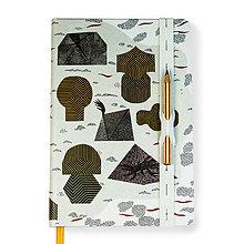 Papiernictvo - Ostrov jantárového kmeňa (Zápisník A5) - 8596369_