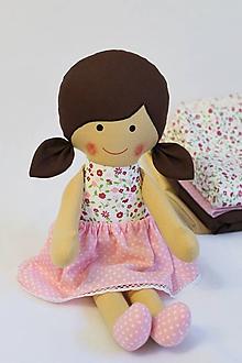 Hračky - bábika Anička - 8597738_