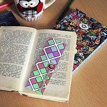 Papiernictvo - Záložky do knihy s menom a fotkou - 8595361_