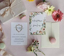 Papiernictvo - Svadobné oznámenie Simple - 8601196_