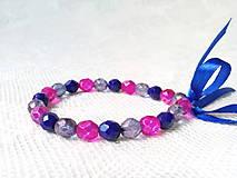 Náramky - Winter watermelon bracelet - 8600816_