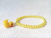 Náramky - Cute duck bracelet - 8600844_