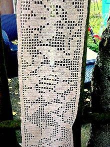 Úžitkový textil - Štóla alebo záclonka - 8602590_