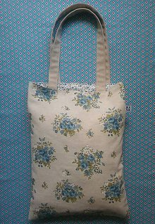 Nákupné tašky - Látková ekoTaška - kvety - 8602669_