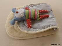 Textil - MERINO podložka do kočíka BUGABOO Bee / Buffalo/ Cameleon/ Donkey/ Joolz 100% WOOL Seat Liner Star Grey melange - 8602757_