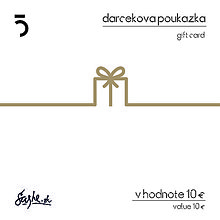 Darčekové poukážky - Darčeková poukážka bronzová - 5ive lab - 8599942_