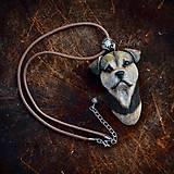 Náhrdelníky - Prívesok s podobou psa - podľa fotografie - 8600000_