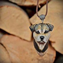Náhrdelníky - Prívesok s podobou psa - podľa fotografie - 8599996_