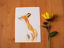 Papiernictvo - Pohľadnice: Zvieratká do sveta sa vybrali. - 8601624_