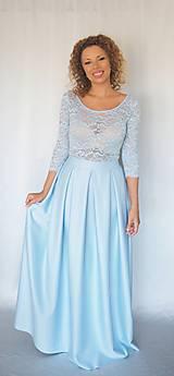Šaty - BABY BLUE - 8601534_