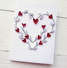 Papiernictvo - svadobná pohľadnica - 8600186_