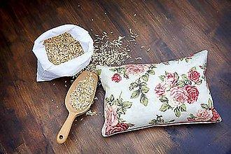Úžitkový textil - Špaldový vankúš 20 x 30 cm - 8602356_