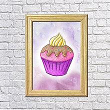 Grafika - Sladký koláčik v hmle - 8601443_