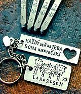 Kľúčenky - FAMILY ... :) - 8604475_