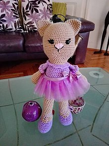 Hračky - Mačička balerína Picky - 8605176_