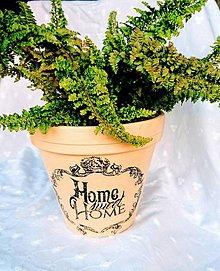 """Nádoby - Kvetináč """"Home"""" - 8606067_"""