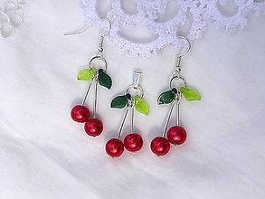 Sady šperkov - čerešne zo sadu...sada - 8606581_