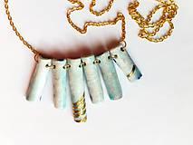 Náhrdelníky - paličkový náhrdelník - 8603625_