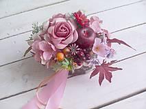 Dekorácie - Kvetinová krabička ... dekorácia - 8605644_