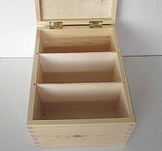 Polotovary - M61- Krabica na fotografie,CD, recepty... - 8603386_