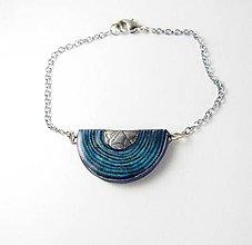 Náramky - Tana šperky - keramika/platina - 8603583_